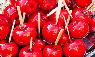candy apple photo