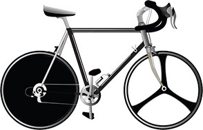 modern racing bicycle