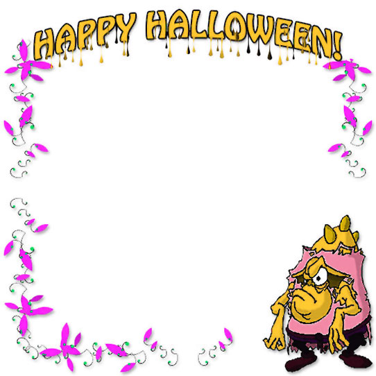 Happy Halloween border
