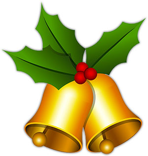 Free Christmas Bells - Christmas Graphics - Clipart