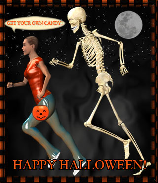 get your own candy skeleton