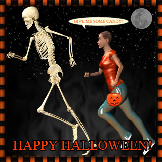 give me some candy skeleton