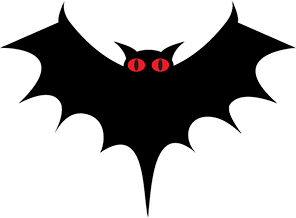 Halloween Graphics Free - Bats - Pumpkins - Clipart