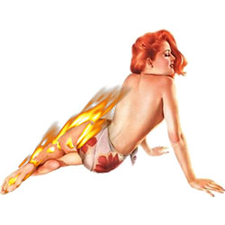 hot pin up girl