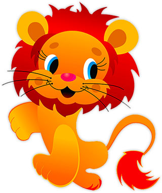 Lion animated. Free animations images of