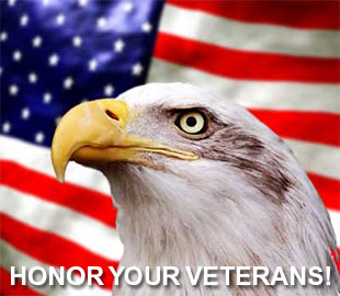 Honor Your Veterans with American eagle