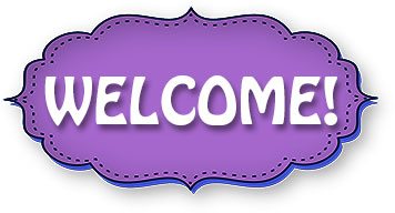 Image result for welcome clipart purple